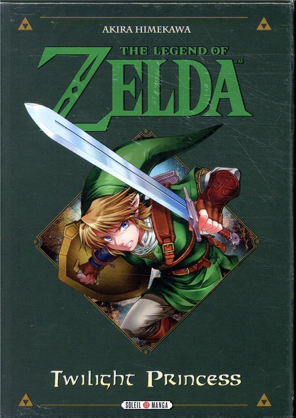 The Legend Of Zelda Twilight Princess Coffret T 1 A T 3