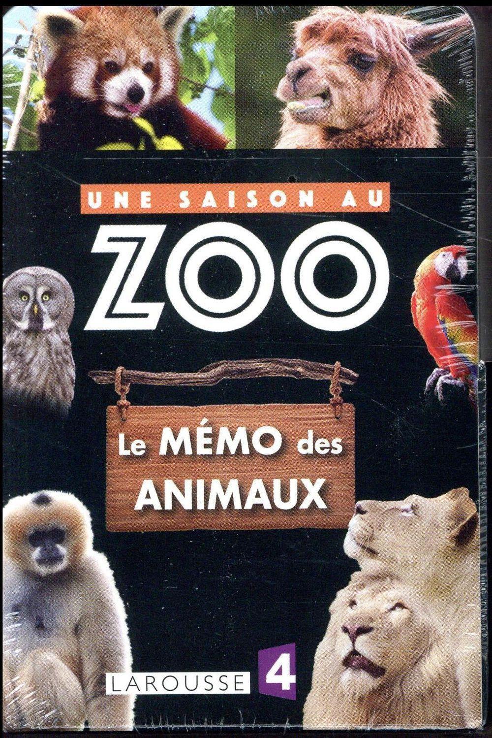 Une Saison Au Zoo Le Memo Des Animaux Collectif Livre
