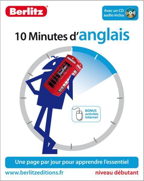 10 Minutes D Anglais Niveau Debutant Collectif Livre