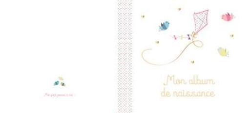 Mon Album De Naissance Fille Aline Mengant Livre