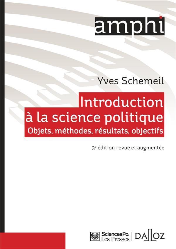 introduction  u00e0 la science politique  3e  u00e9dition    objets