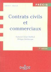 Contrats Civils Et Commerciaux (7e édition) - Intérieur - Format classique