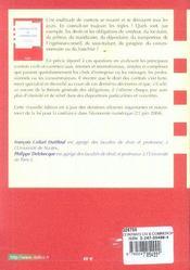 Contrats Civils Et Commerciaux (7e édition) - 4ème de couverture - Format classique