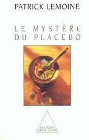 Le mystère du placebo - Intérieur - Format classique