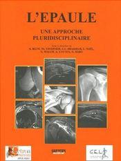 L'épaule, une approche pluridisciplinaire - Couverture - Format classique
