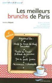 Les meilleurs brunchs de paris (édition 2007) - Intérieur - Format classique