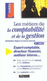 Metiers de la comptabilite gestion (les) 2e edition - Intérieur - Format classique