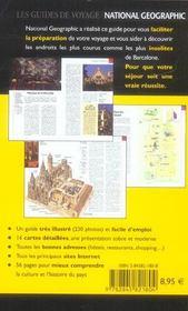 Barcelone (2e édition) - 4ème de couverture - Format classique