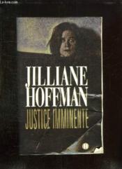 Justice Imminente - Couverture - Format classique