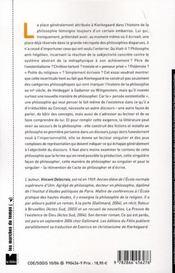 Singulière philosophie ; essai sur Kierkegaard - 4ème de couverture - Format classique