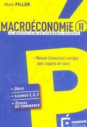 Macro-eco ii : islm en eco ouverte - Intérieur - Format classique