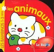 Bambinos 1-3 Ans ; Les Animaux - Intérieur - Format classique