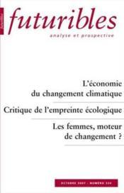 L'economie du changement climatique - Couverture - Format classique