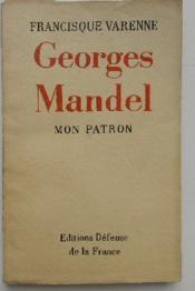 GEORGES MANDEL. Mon patron. - Couverture - Format classique