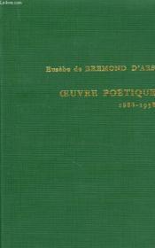 Oeuvre Poetique, 1888-1958 - Couverture - Format classique