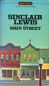 Main Street - Couverture - Format classique