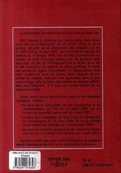 Code civil (édition 2008) - 4ème de couverture - Format classique