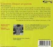 Comment éduquer ses parents... T.1 - 4ème de couverture - Format classique