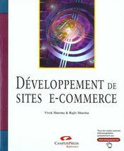 Développement De Sites E-Commerce - Intérieur - Format classique