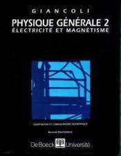 Physique générale t.2 - Couverture - Format classique