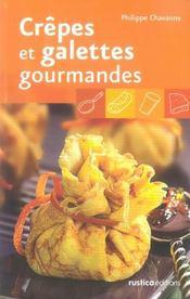 Crêpes et galettes gourmandes - Intérieur - Format classique