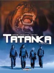 Tatanka t.1 ; morsure - Couverture - Format classique