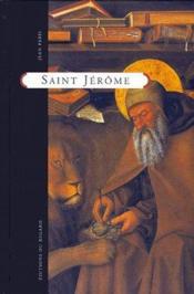 Saint Jérôme - Couverture - Format classique