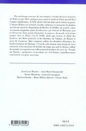 West-Ostlicher Divan De Goethe - 4ème de couverture - Format classique