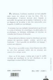 L'Alchimie Expliquee Par Son Langage - 4ème de couverture - Format classique