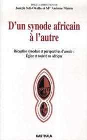 D'un synode africain à l'autre - Couverture - Format classique