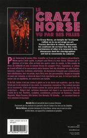 Le crazy horse ... vu par ses filles - 4ème de couverture - Format classique