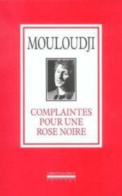 Complaintes Pour Une Rose Noire - Couverture - Format classique