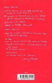 Complaintes Pour Une Rose Noire - 4ème de couverture - Format classique