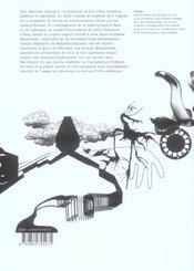 Manuelle gautrand. architectures - 4ème de couverture - Format classique