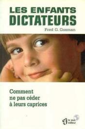 Les Enfants Dictateurs - Couverture - Format classique