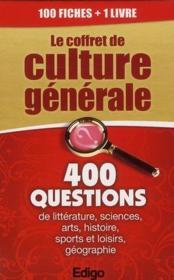 Le coffret de culture générale - Couverture - Format classique