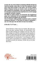 Koko Le Moineau - 80 Jours Autour Du Monde - 4ème de couverture - Format classique