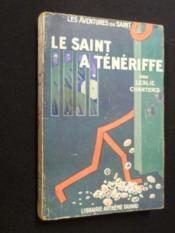 Le Saint à Ténériffe - Couverture - Format classique