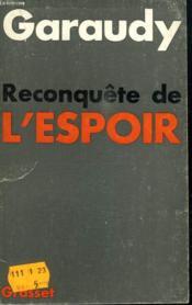 Reconquete De L Espoir. - Couverture - Format classique