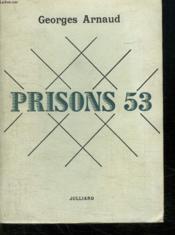 Prisons 53. - Couverture - Format classique