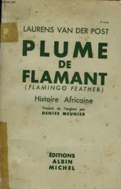 Plume De Flamant. - Couverture - Format classique