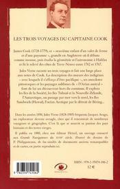 Les 3 voyages du capitaine Cook (2e édition) - 4ème de couverture - Format classique