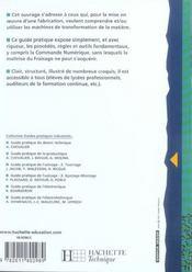 Guide Pratique De L'Usinage T.1 ; Fraisage - 4ème de couverture - Format classique