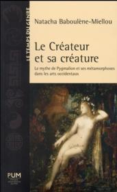 Createur et sa creature - Couverture - Format classique