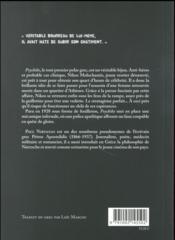 Psychiko - 4ème de couverture - Format classique