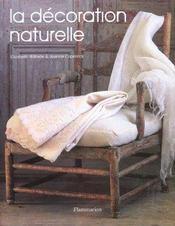 La décoration naturelle (édition 2002) - Intérieur - Format classique