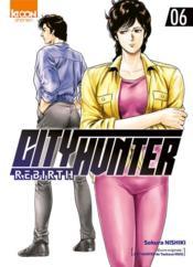 City Hunter - rebirth T.6 - Couverture - Format classique