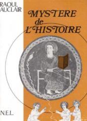 Mystère de l'histoire - Couverture - Format classique