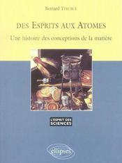Des Esprits Aux Atomes Une Histoire Des Conceptions De La Matiere No26 - Intérieur - Format classique