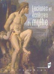 Lectures et ecritures du mythe - Intérieur - Format classique